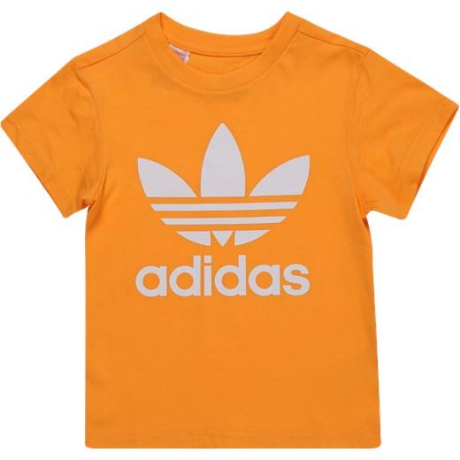 Bluzka dziewczęca Adidas Originals z krótkim rękawem