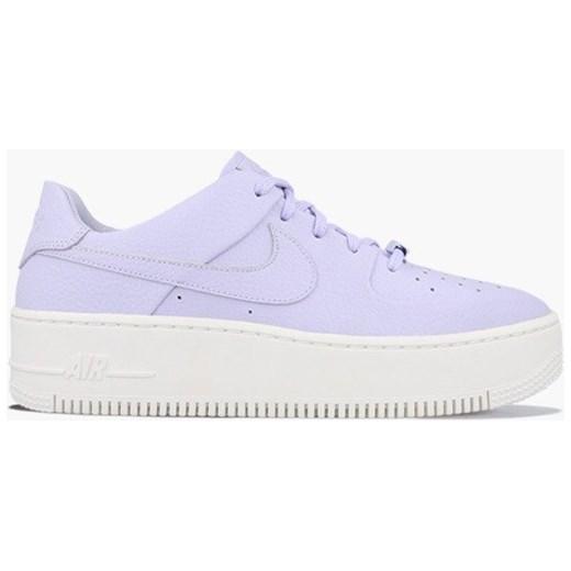 Buty sportowe damskie Nike dla biegaczy air force bez wzorów wiązane
