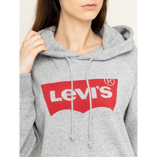 Bluza damska Levis z napisami krótka