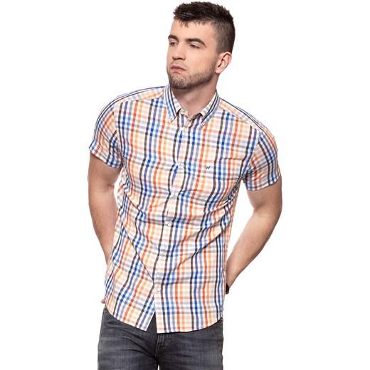 Koszula męska Wrangler z klasycznym kołnierzykiem w Domodi  3UXVp