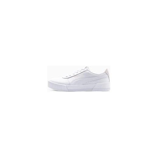 Buty sportowe damskie Puma casualowe młodzieżowe wiązane białe