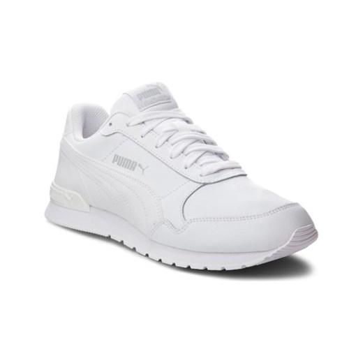 Buty sportowe damskie białe Puma sznurowane na wiosnę