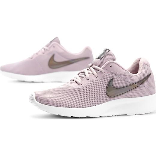 Buty sportowe damskie Nike dla biegaczy tanjun różowe