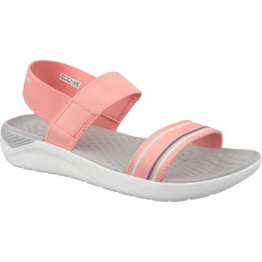 Sandały damskie Crocs z gumy w Domodi