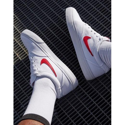 Estresante Fuera dialecto  Nike SB Charge Canvas – Białe buty sportowe-Biały Asos Poland w Domodi