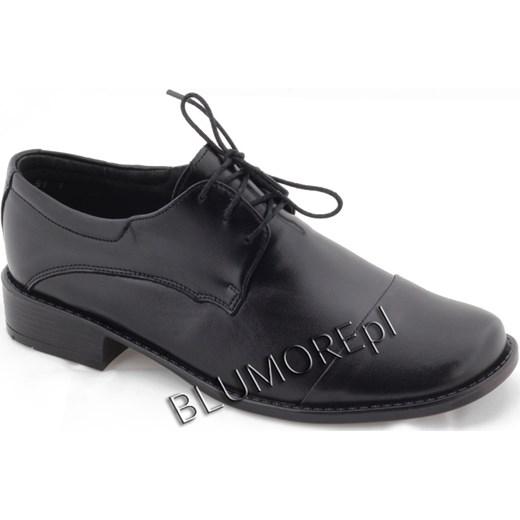 5338ed6d8e590 Czarne buty do komunii Zarro dla chłopca 27 - 38 blumore-pl szary chłopięce  ...