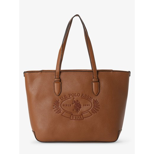 U.S. Polo Assn. - Damska torba shopper – Hailey, beżowy ONE SIZE vangraaf
