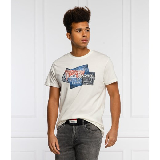 Pepe Jeans London T-shirt BENJAMIN | Regular Fit XL okazja Gomez Fashion Store
