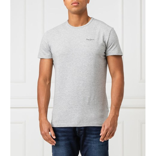 Pepe Jeans London T-shirt Original basic | Slim Fit S wyprzedaż Gomez Fashion Store