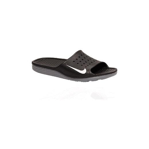 klapki męskie Nike Solarsoft Slide deichmann szary angielskie