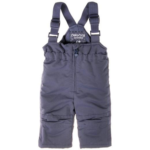 Cool Club, Spodnie narciarskie chłopięce, rozmiar 74 Wyprzedaż ubrania i buty nawet do 50% taniej! smyk com szary chłopięce