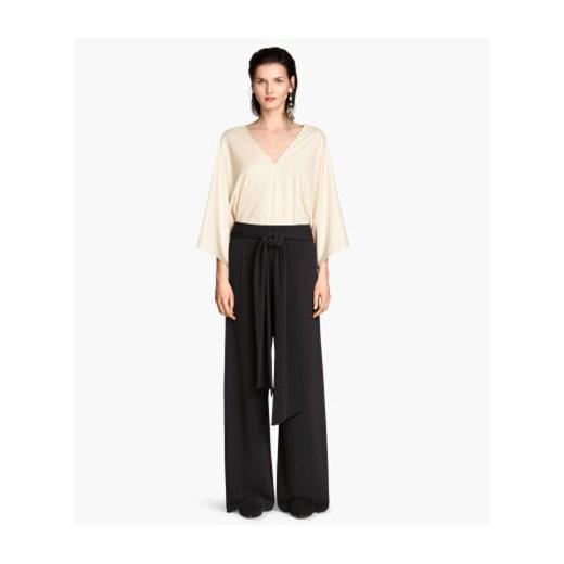 szerokie spodnie damskie h&m