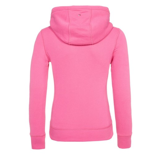 Tommy Hilfiger LOVE Bluza z kapturem shocking pink zalando