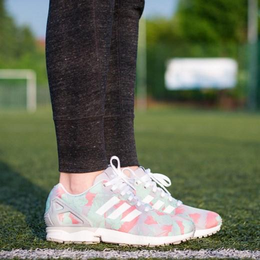 BUTY ADIDAS ORIGINALS ZX FLUX M19456 sneakerstudio pl zielony kwiatowy