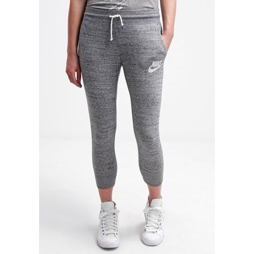 Nike Sportswear GYM VINTAGE Spodnie treningowe czarny zalando bawełniane