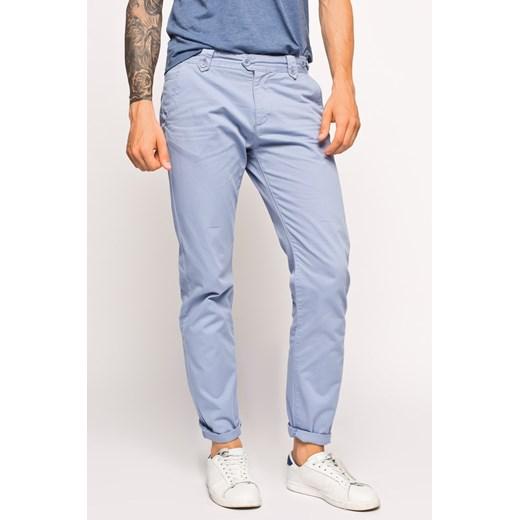 Spodnie męskie Lee Cooper Owen Muslera Blue answear com niebieski