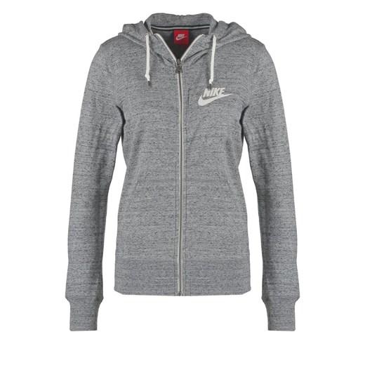 Nike Sportswear GYM VINTAGE Bluza rozpinana szary zalando bawełniane
