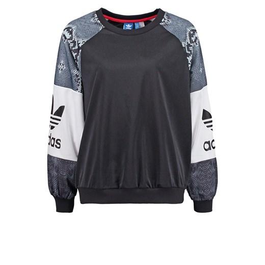 adidas Originals Bluza black zalando szary Bluzy z nadrukiem damskie