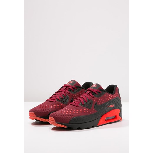 Nike Sportswear AIR MAX 90 ULTRA BR Tenisówki i Trampki team redblackbright crimson zalando czerwony casual