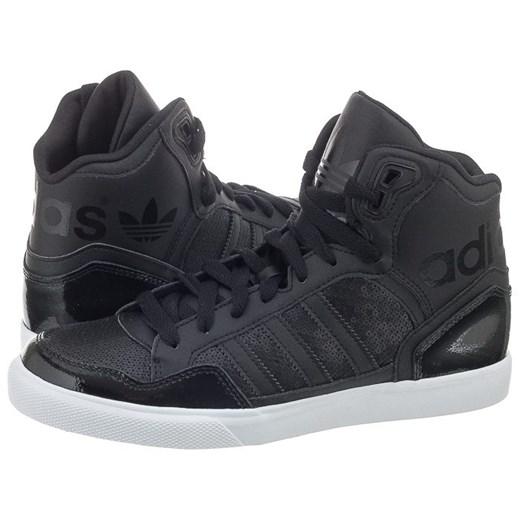 Buty Adidas Extaball W S77396 (AD513 a) butsklep pl szary Wysokie trampki damskie