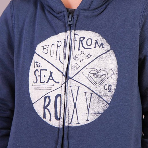 Bluza Roxy City Dark Denim brandsplanet pl niebieski w Domodi