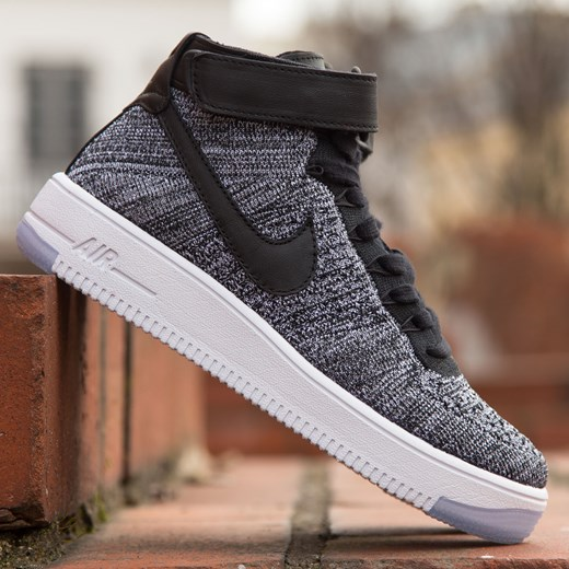 nike air force 1 ultra flyknit szare