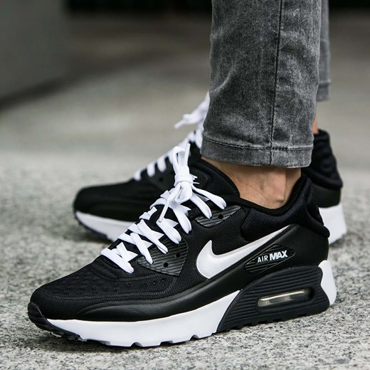 sneakersy dziecięce Nike Buty Air Max 90 Ultra Se czarne 844599 001