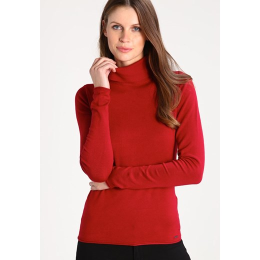 More & More Sweter vintage red More & More  34 Zalando