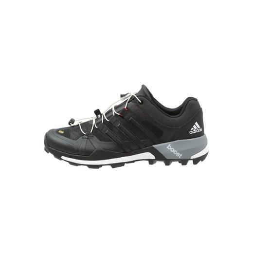 adidas Performance TERREX BOOST GTX Obuwie do biegania Szlak core blackwhitevista grey zalando szary abstrakcyjne wzory