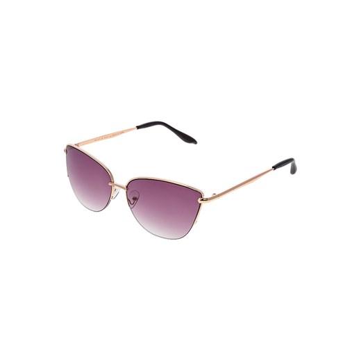 mint&berry Okulary przeciwsłoneczne goldcolouredblack bialy