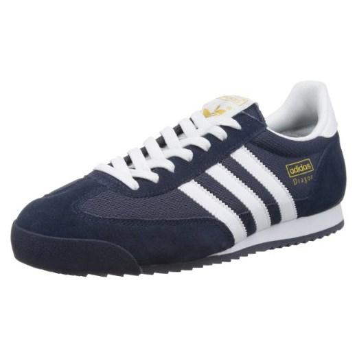 Buty sportowe adidas Dragon dla mężczyzn, kolor: niebieski, rozmiar: 44 23 czarny Amazon