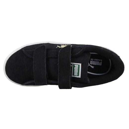 Buty dziecięce sneakersy Puma Suede 2 Straps Kids 356274 01 sneakerstudio.pl