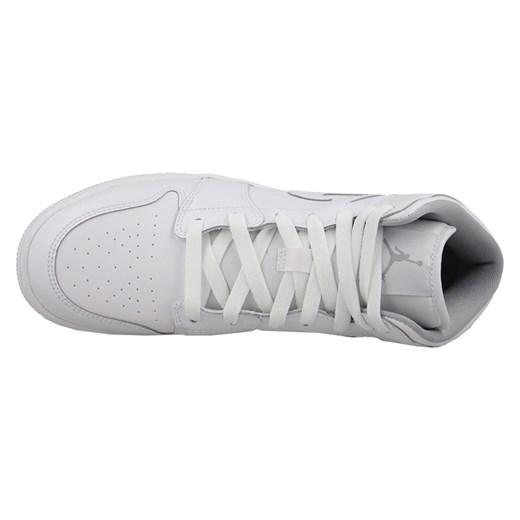 Buty damskie sneakersy Air Jordan 1 Mid Bg 554725 112 Nike szary sneakerstudio.pl