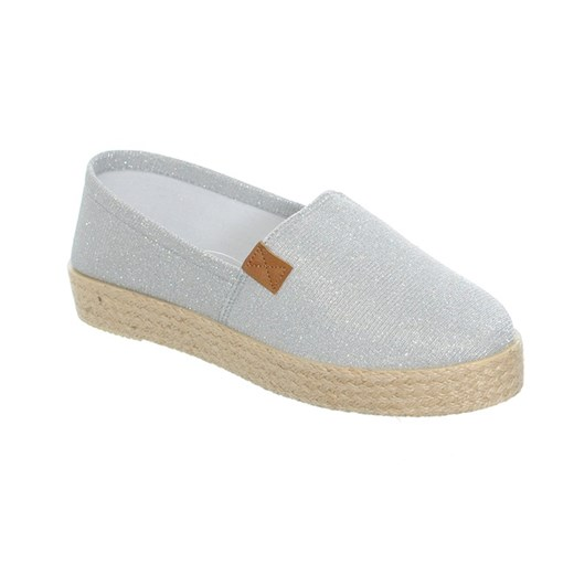 ESPADRYLE SREBRNA NITKA bezowy Good-In 36 Family Shoes