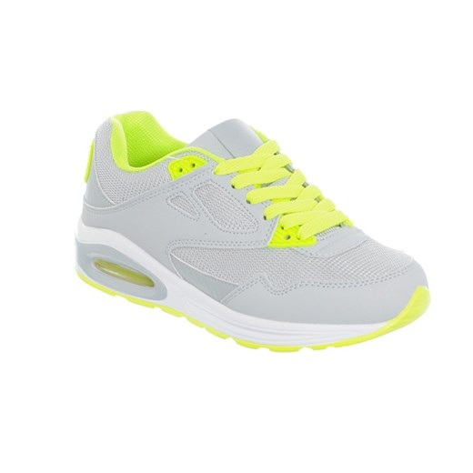 ADIDASY AIR SZARE ZIELONE zolty Family Shoes w Domodi
