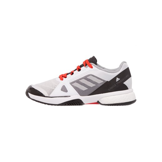 adidas Performance BARRICADE BOOST 2017 Obuwie do tenisa Indoor whiteuniversered Zalando