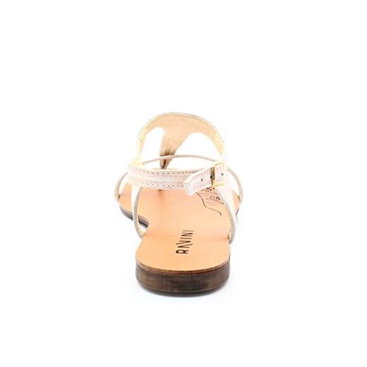 sandały Ravini 128 RÓZ Letnie, lekkie sandałki japonki