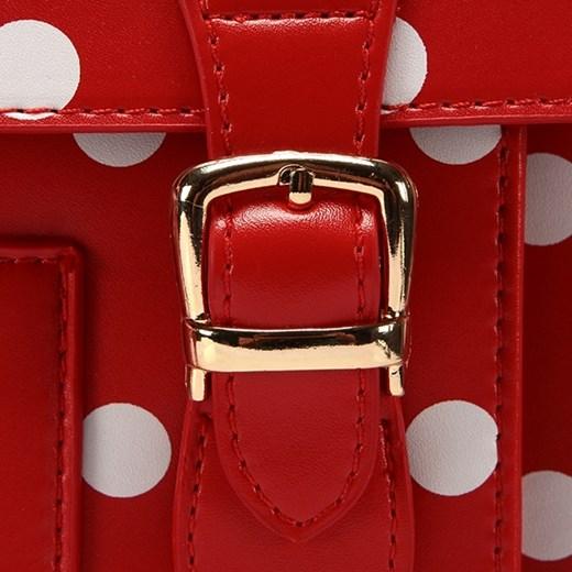 Torebka listonoszka w groszki A4 Tiffany 01 Uk Fashion