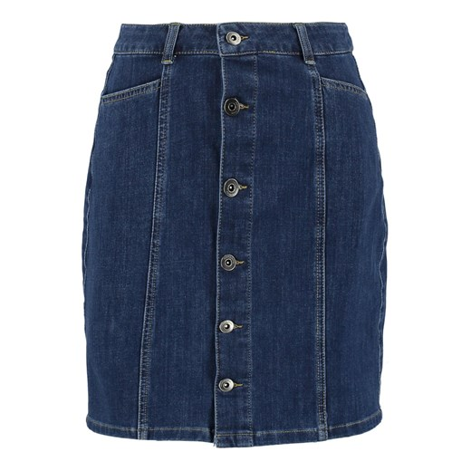 More & More Spódnica mini mid blue denim More & More  44 Zalando