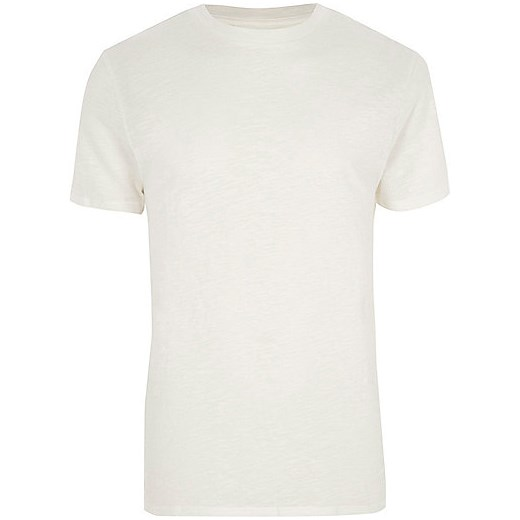 Stone short sleeve T-shirt  River Island bezowy