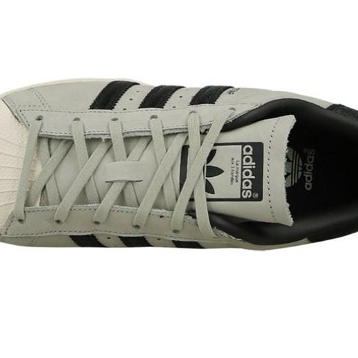 Buty damskie sneakersy adidas Superstar Fashion BY8883 GRAFITOWY || szaryniebieski || SZARY