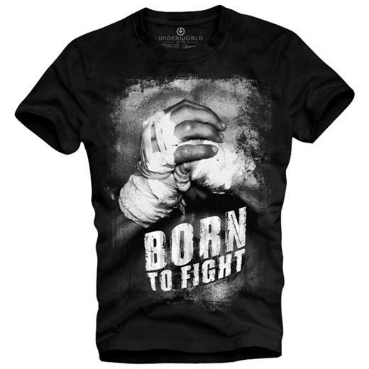 T-shirt UNDERWORLD Organic Cotton Born to fight