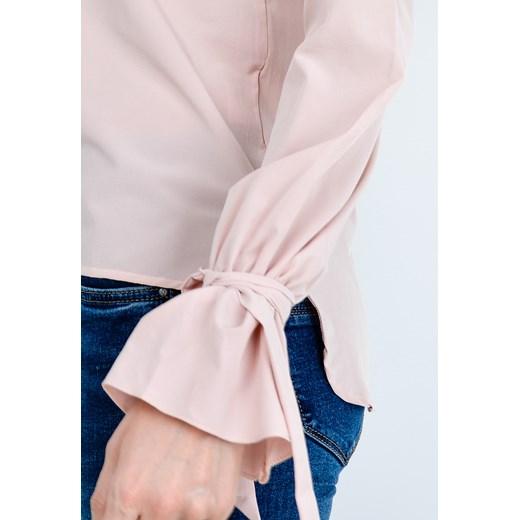Koszula z wiązaniem na rękawach Zoio zoio.pl w Domodi  Qoxkj