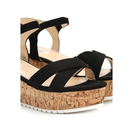 czarne sandały the cure