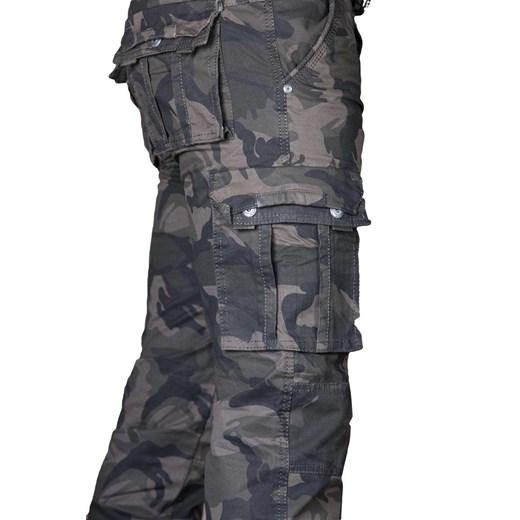 Spodnie męskie Bojówki Iteno Proste w Domodi