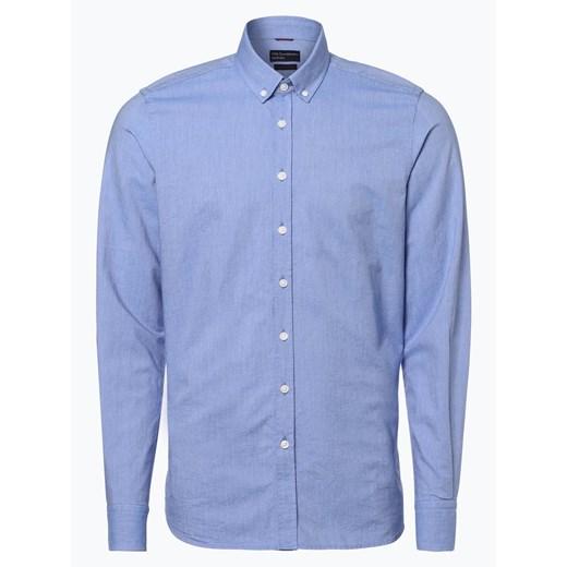 Koszula męska Van Graaf niebieska w Domodi