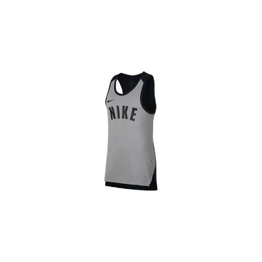 Męska koszulka bez rękawów do koszykówki Nike Dri FIT Hyper Elite Szary