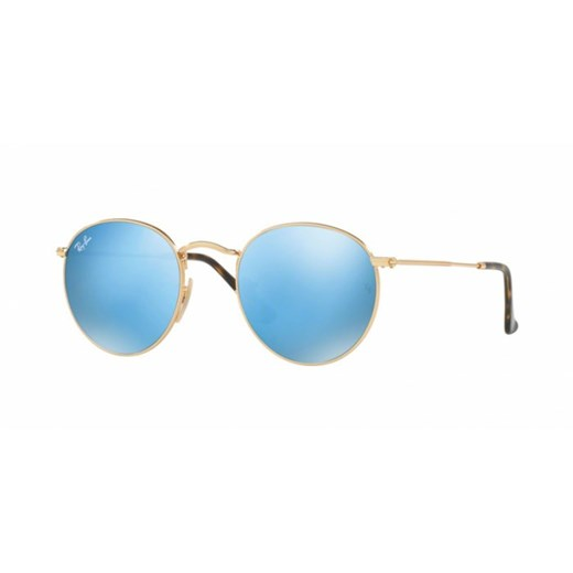 OKULARY RAY-BAN® ROUND METAL RB 3447N 001/9O 47 Ray-ban® niebieski  Aurum-Optics