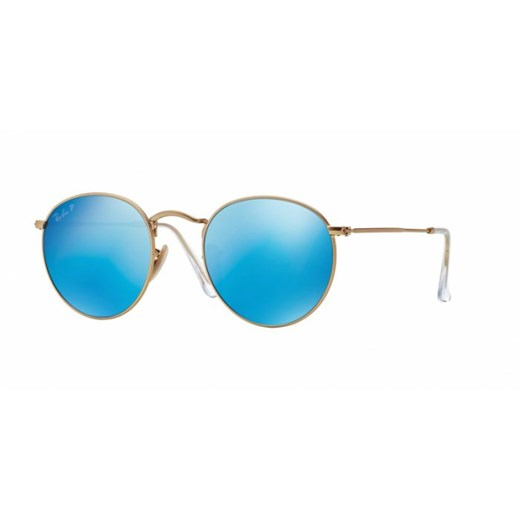 OKULARY RAY-BAN® ROUND METAL RB 3447 112/4L 53 Ray-ban® turkusowy  Aurum-Optics