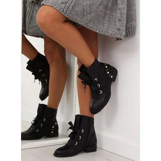 17018-13 czarne botki